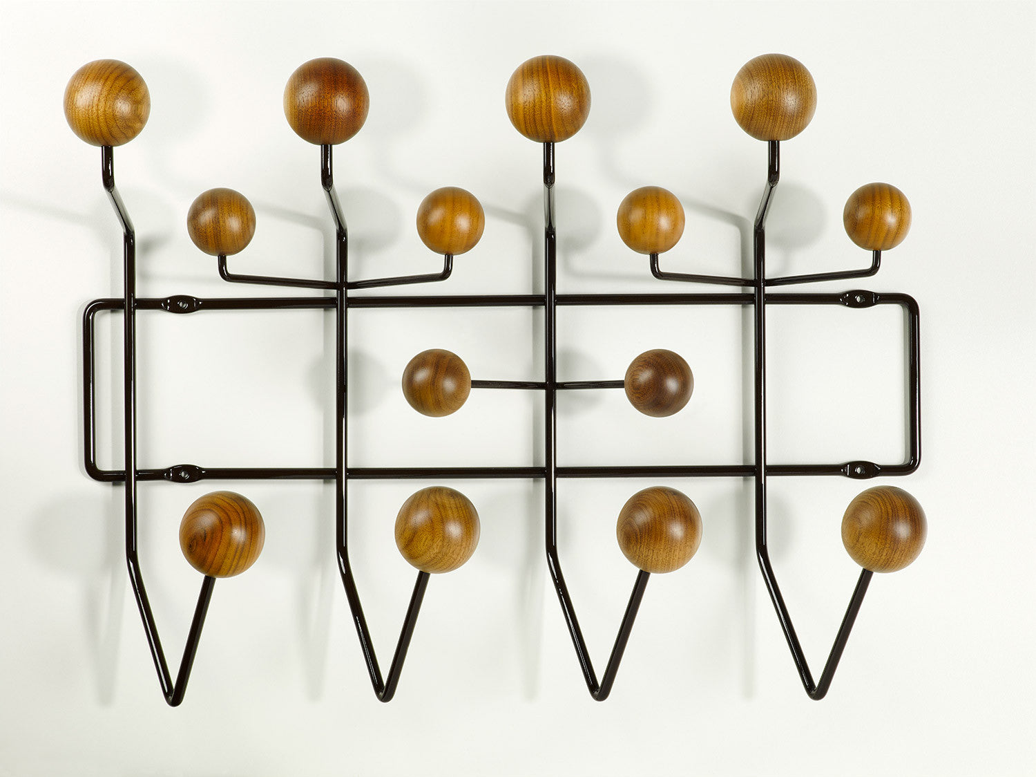 Amazing Eames Hang It All   Walnut Amazing Ideas