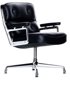 Eames Lobby Chair ES 108 black leather