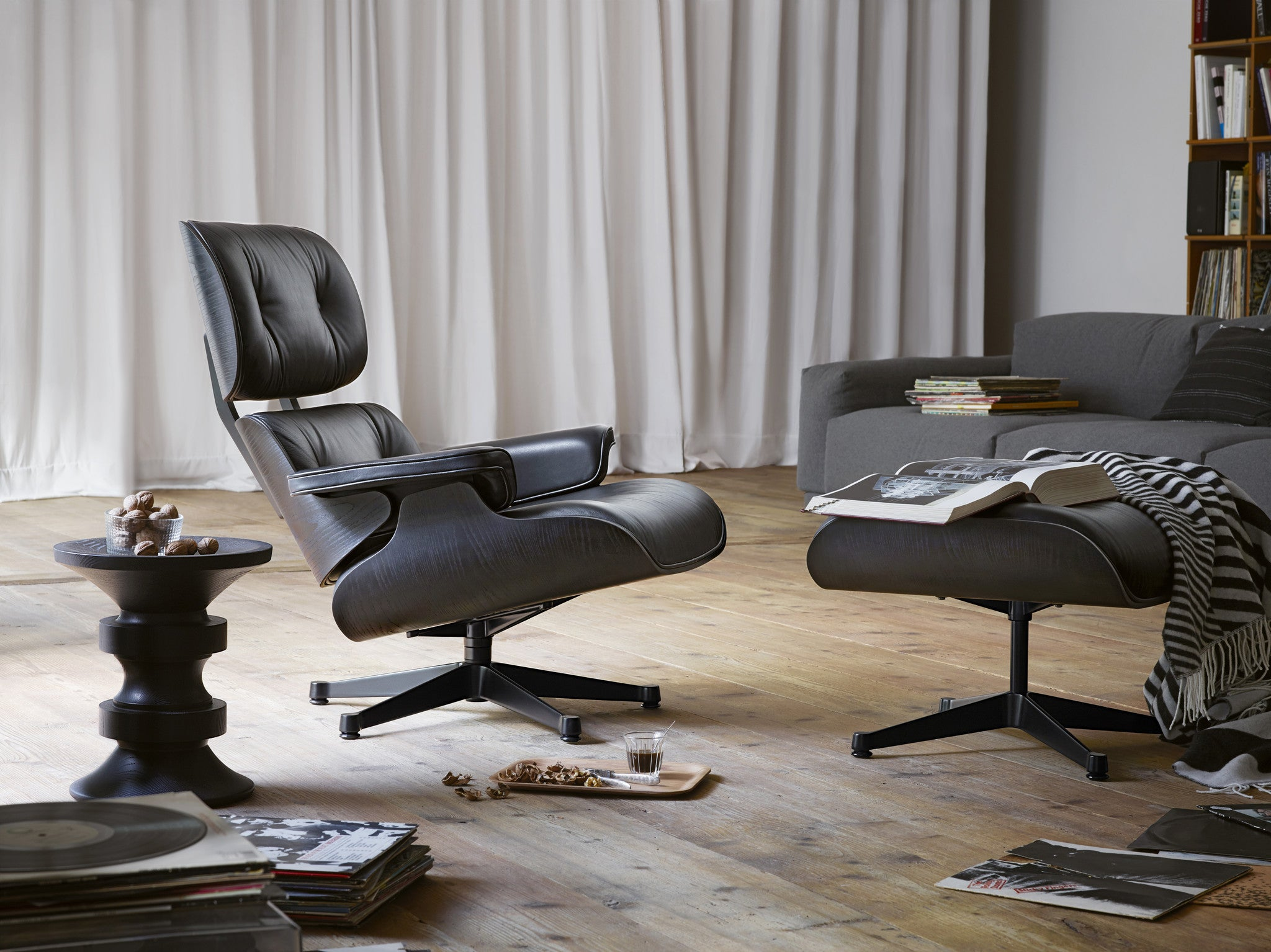 Eames Lounge Chair Black Version Couch Potato Company