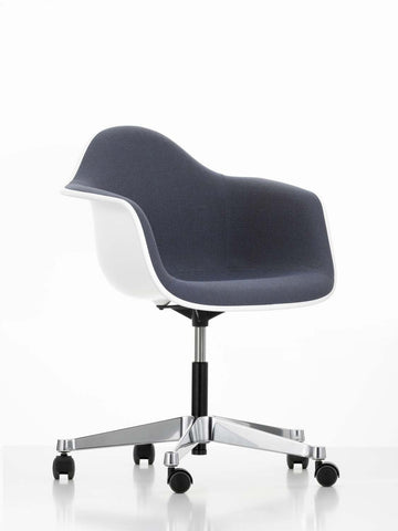 Eames Plastic Armchair (PACC), Fully Upholstered