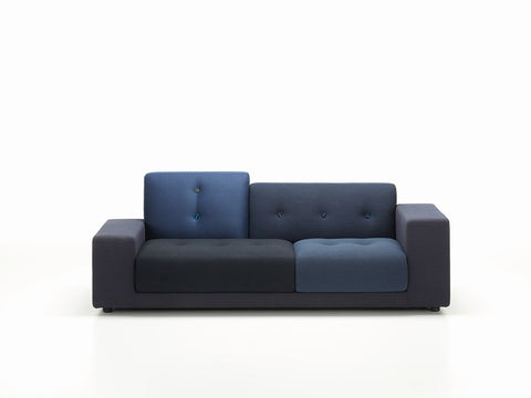 Polder Compact sofa, night blue fabric mix