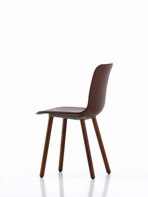 HAL Leather Wood Chair