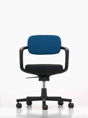 Allstart Chair, blue backrest, black frame