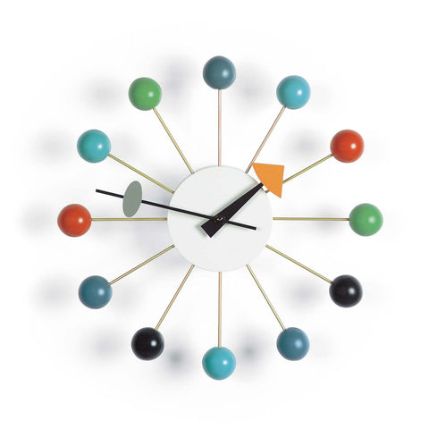 Nelson Ball Clock, multicoloured