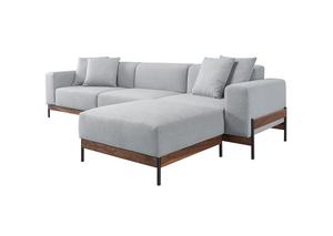 Bowie 3 Seater Sofa with Footstool