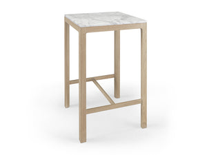 Nuda Square Marble Bar Table