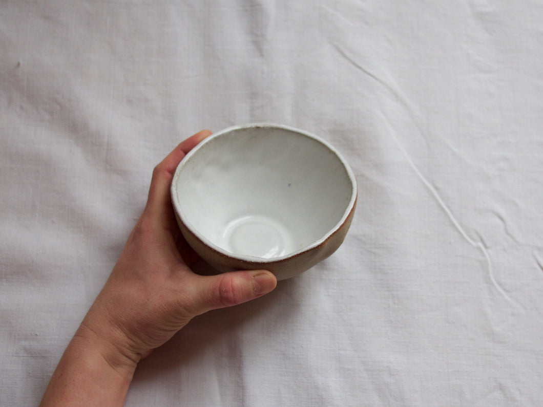 Tea / Coffee bowl - Simple - Gloss white