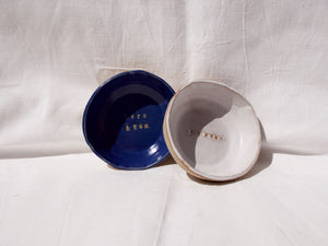 Custom bowls - Three designs - Your own words