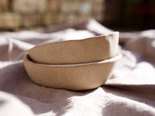 Load image into Gallery viewer, my hungry valentine-studio-ceramics-word on the clay-dip bowl-group-sides