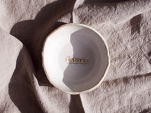 Load image into Gallery viewer, my hungry valentine-studio-ceramics-word on the clay-dip bowl-labneh-top