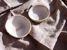 Load image into Gallery viewer, Custom bowls - Three designs - Your own words
