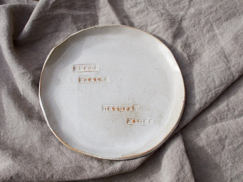 my hungry valentine-studio-ceramics-word on the clay-flat plate-small plates natural wines-2