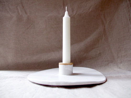 myhungryvalentine-studio-ceramics-seconds-cakestand-small-small-foot-mattwhite-candle
