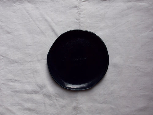 myhungryvalentine-studio-ceramics-seconds-plate-16-midnightblue-top