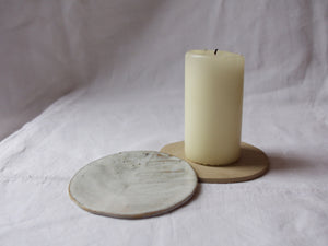 myhungryvalentine-studio-ceramics-seconds-stripes-candle-rest-cloudywhite-natural-top-2