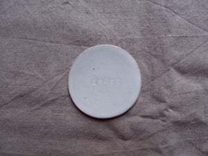 myhungryvalentine-studio-ceramics-seconds-wordontheclay-coasters-godet-gloss-white-top