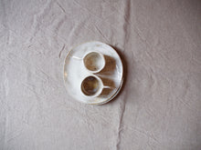 Load image into Gallery viewer, myhungryvalentine-studio-ceramics-sets-breakfast-cakeplateandespressocups-cloudywhite-stacked