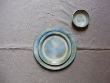 Load image into Gallery viewer, myhungryvalentine-studio-ceramics-sets-cloudygreen-platesandbowlsingle-top