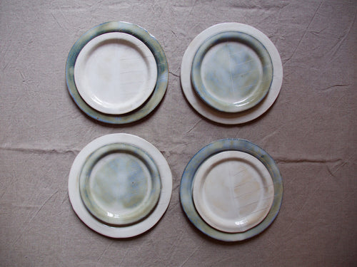 myhungryvalentine-studio-ceramics-sets-plates-cloudygreenandcloudywhite-setoffour-top