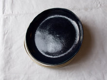 Load image into Gallery viewer, myhungryvalentine-studio-ceramics-simple-pastaplate-19-midnightblue-stacked-1