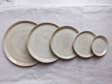 Load image into Gallery viewer, myhungryvalentine-studio-ceramics-simple-plate-set-5-cloudywhite-top-3