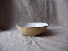 Load image into Gallery viewer, myhungryvalentine-studio-ceramics-simple-servingbowl-medium-glosswhite-side