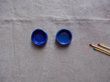 Load image into Gallery viewer, myhungryvalentine-studio-ceramics-simple-tealightholders-small-myosotisblue-pair-top-2