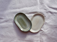 Load image into Gallery viewer, myhungryvalentine-studio-ceramics-simple-trinketdish-cloudygreen-cloudywhite-1