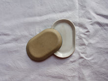 Load image into Gallery viewer, myhungryvalentine-studio-ceramics-simple-trinketdish-cloudywhite-back