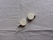 Load image into Gallery viewer, myhungryvalentine-studio-ceramics-stripes-espressocups-small-cloudywhite-bottom