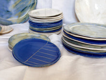 Load image into Gallery viewer, myhungryvalentine-studio-ceramics-stripes-plates-group