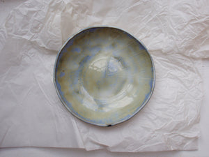 my hungry valentine-studio-ceramics-stripes-round serving bowl-cloudy green-top.jpg