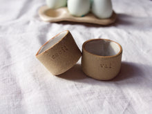 Load image into Gallery viewer, myhungryvalentine-studio-ceramics-wordontheclay-eggcup-group-2