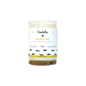 Black Tie Soy Candle - Standard