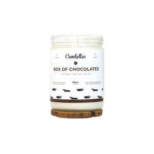 Box Of Chocolates Soy Candle - Standard