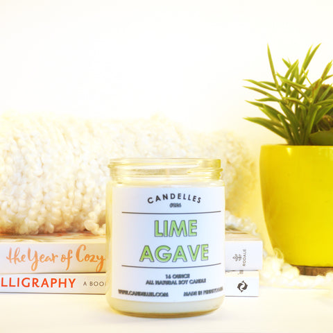 Lime Agave 16oz. Soy Wax Candle