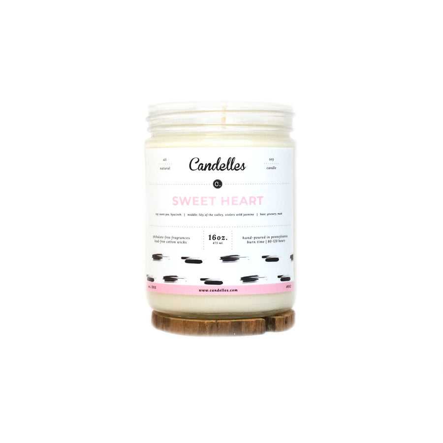 Sweet Heart Soy Candle - Standard
