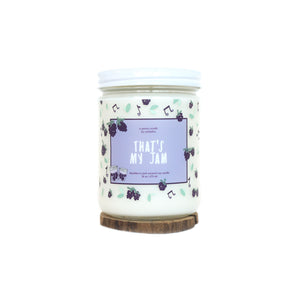 """That's My Jam"" Soy Candle - Standard"