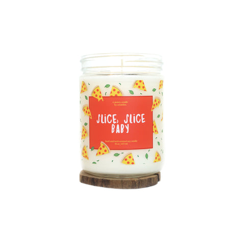 """Slice, Slice Baby"" 16oz. Soy Wax Candle"