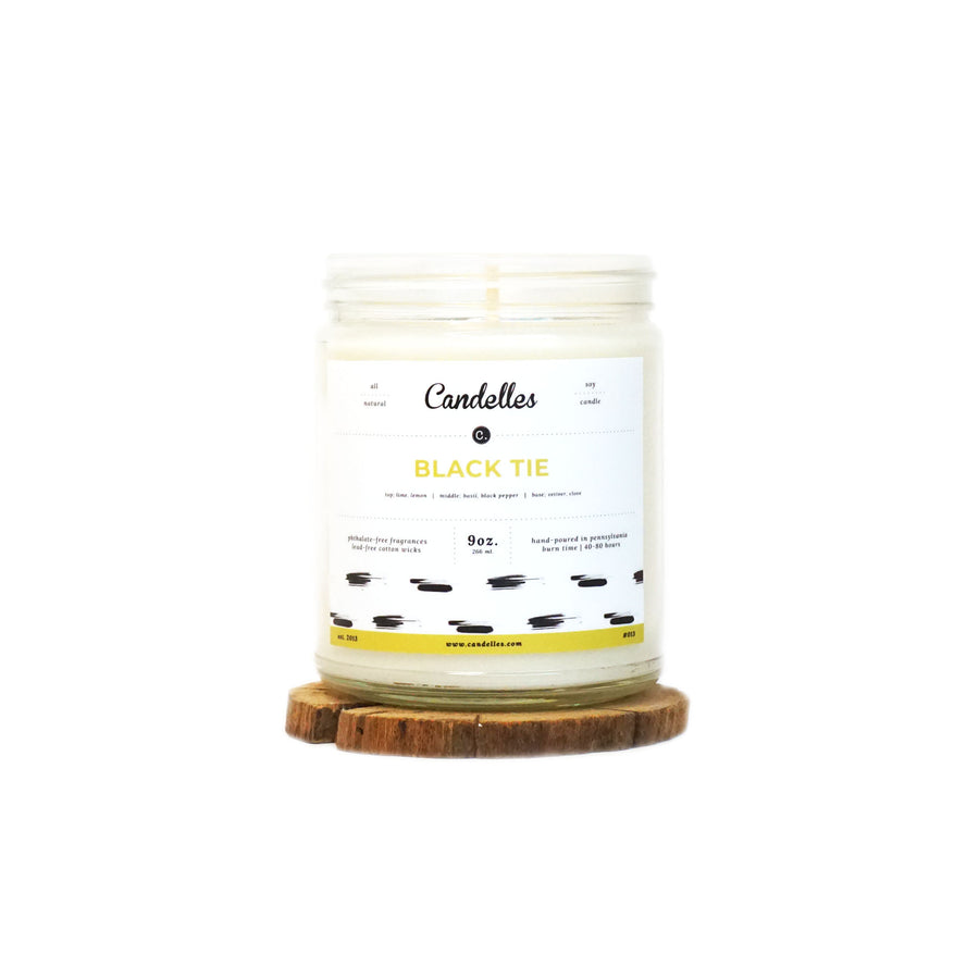 Black Tie Soy Candle - Petite