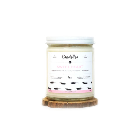 Sweet Heart 9oz. Soy Candle