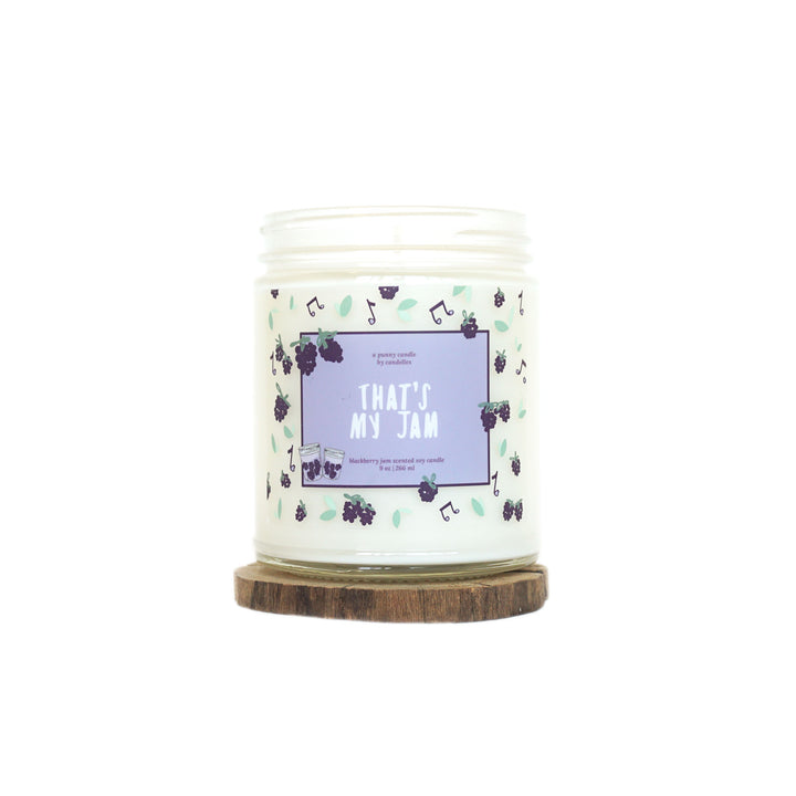"""That's My Jam"" Soy Candle - Petite"