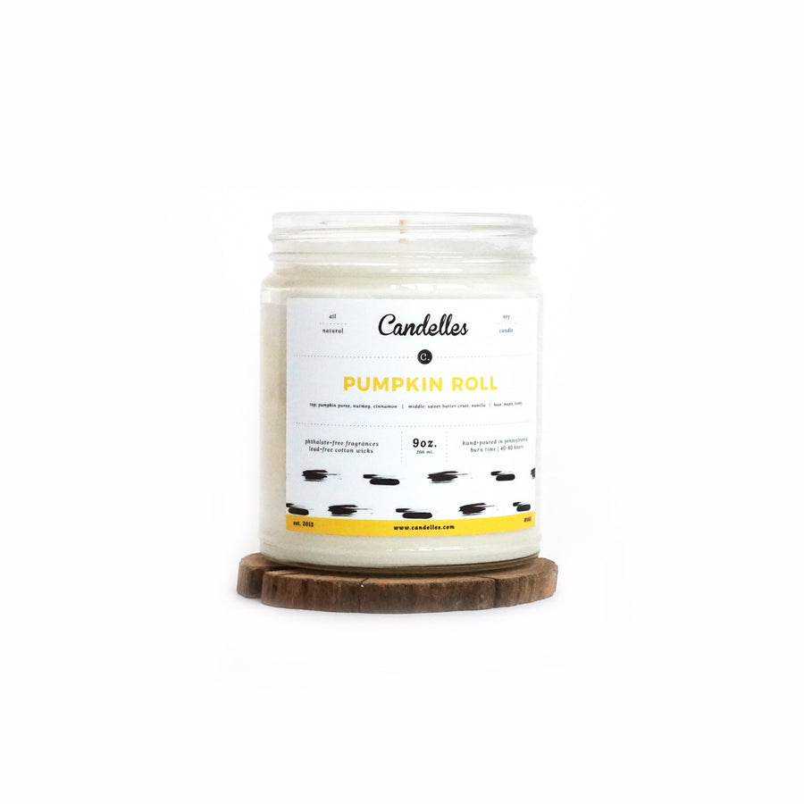 Pumpkin Roll Soy Candle - Petite