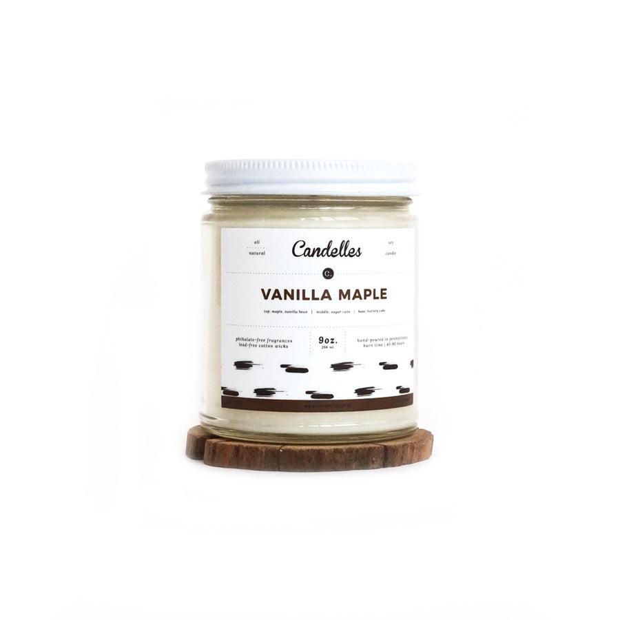 Vanilla Maple Soy Candle - Petite