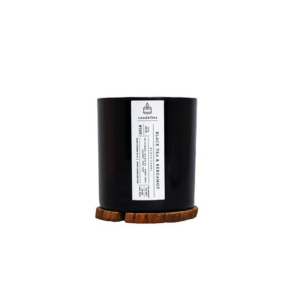 Black Tea & Bergamot Soy Candle - Tumbler
