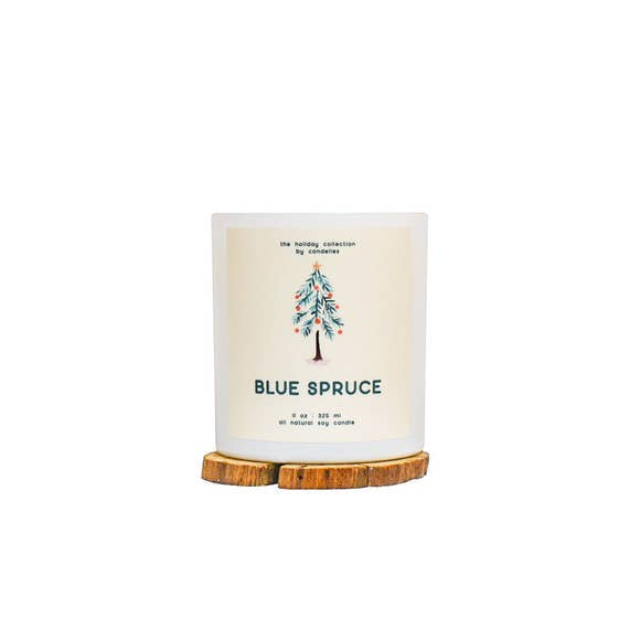 Blue Spruce Soy Candle - Tumbler