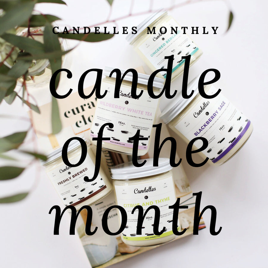 Candelles Monthly: Candle Of The Month (Prepaid - 6 Months)