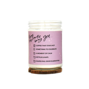 PREORDER - Just For Mama - Lavender Soy Candle