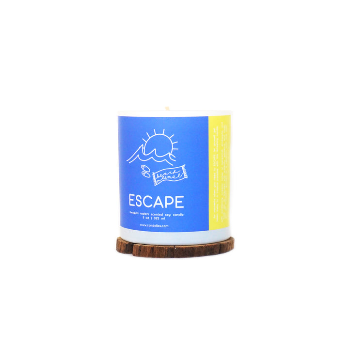 ESCAPE - Awapuhi Waters Tumbler Soy Candle