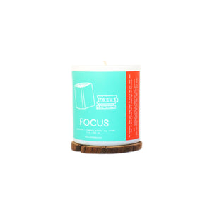 FOCUS - Peppermint and Rosemary Tumbler Soy Candle